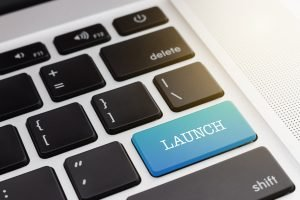 Keyboard with Launch Key